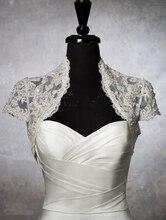 wejanedress Custom Made wedding bridal Bolero 2017 Jacket Wedding Prom Evening Dresses Accessory Bridal Accessories