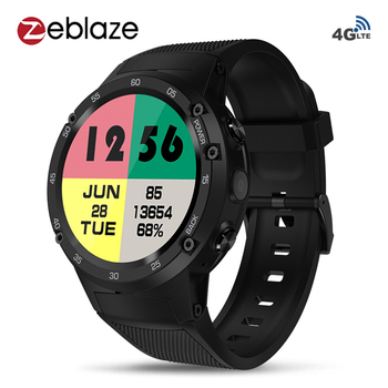 Zeblaze THOR 4 4G LTE Wifi GPS Smart Watch Phone Android7.0 MTK6737 Quad Core 1GB+16GB 5.0MP 580mAh 4G/3G/2G Call SmartWatch Men