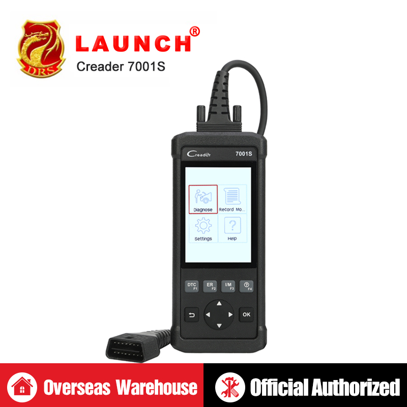 Launch CReader 7001S DIY Auto Code Reader Full OBD2 Scanner Scan Tool  CR7001S Diagnostics Tool as CR8001 Oil EPB Reset ABS SRS