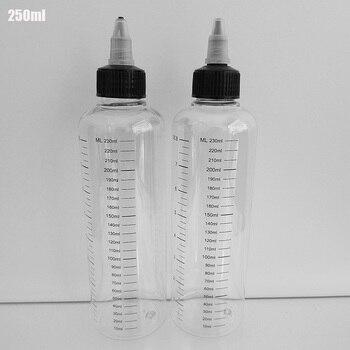 Botella Vacía Con Cuentagotas PET Transparente, Botella Líquida Con Graduación, Impresión De Seda, 30 Unidades, Tapa De Giro, Agua Para Cuidado De La Piel