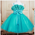 retail girl Wedding dress ,many color girl Elegant princess dress,new summer party dress free shipping 5298