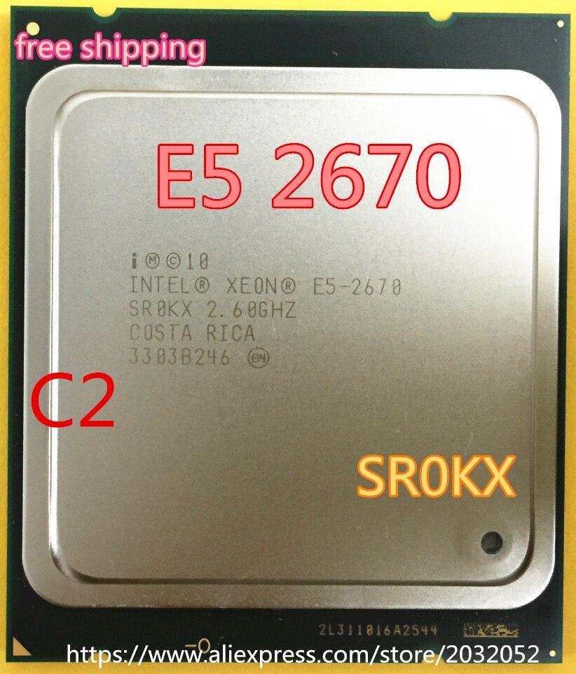 Intel xeon processor e5 2670 cpu 20m cache ghz for 2670 5