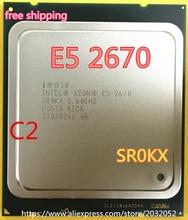 Intel xeon işlemci e5-2670 20 m cache 2.60 ghz 8.00 gt/s intelqpi ga 2011 srokx c2 e5 2670 (çalışma 100% Ücretsiz Kargo)