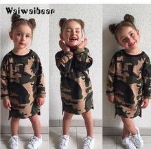Baby Kids Girls Dresses  Autumn For Long- Sleeved Cotton Children Costume With High Quality