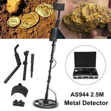 Silver And Gold Underground Metal Detector Gold digger Treasure Hunter, Detection Depth 2.5 M Professional metal detector AS944 genuine smart ar924 metal detector underground metal detector the detection depth is 1 5 meters wholesale