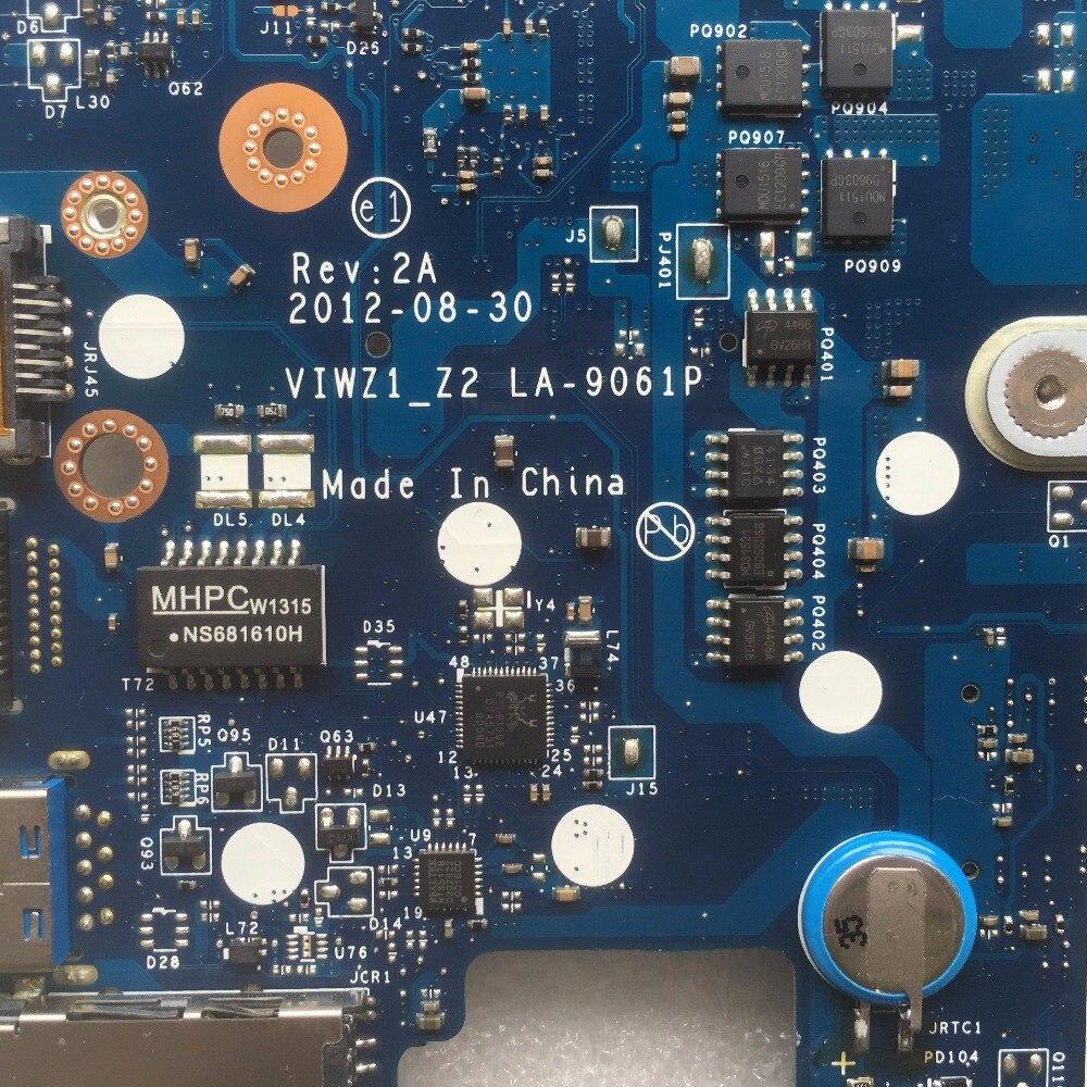 SHELI LA-9061P original motherboard for Lenovo Z500 laptop motherboard tested mainboard VIWZI-Z2 LA-9061P in stock notebook