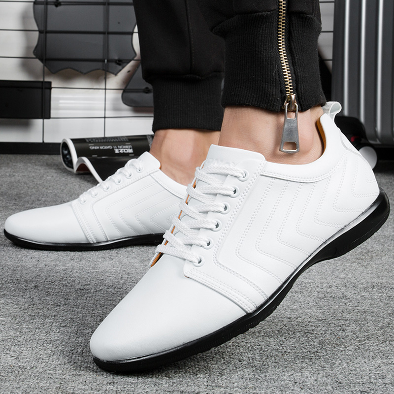 Image 5 - BONA New Classics Style Men Casual Shoes Lace Up Breathable Men  Shoes Light Soft Male Flat Shoes Comfortable Fast Free Shippingshoes  comfortshoe lacesshoe laces free shipping