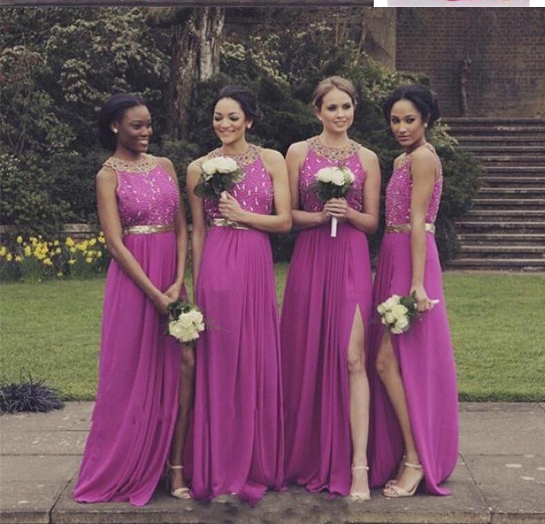 Único Unusual Bridesmaid Dresses Viñeta - Ideas de Vestidos de ...