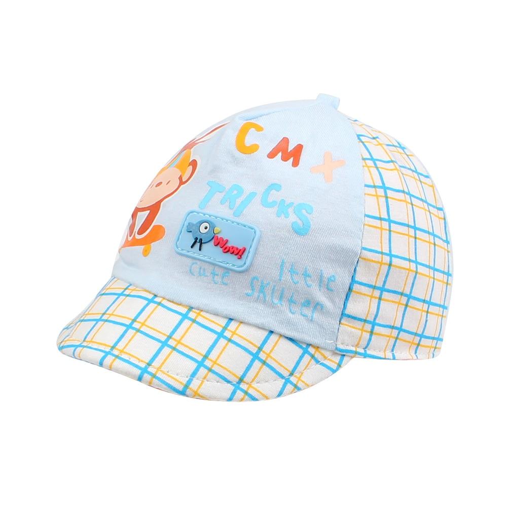 Lindos Algodón Bebé Sombreros Para Niños Moda Béisbol Gorras - Ropa de bebé
