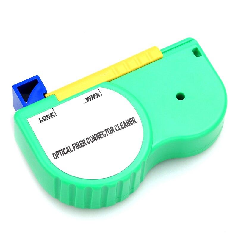 20 pcs/lot nettoyeur de connecteur de Fiber optique/Cassette de nettoyage de Fiber, 500 fois le nettoyeur de Cassette/boîte de nettoyage optique de Fiber