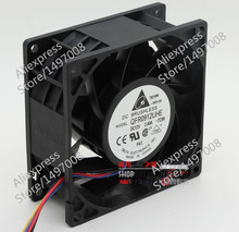 Free Shipping For DELTA  QFR0912UHE, -7C99  DC 12V 2.40A, 90X90X38mm 80mm 4-wire connector Server – Square fan