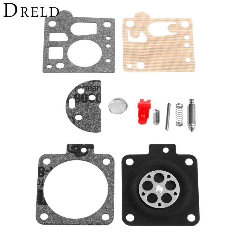 DRELD Chainsaw Carburetor Carb Repair Gasket Kit For STIHL MS380 MS381 038 AND SOME 066 06 Chainsaw Spare Parts