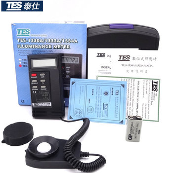 TES-1334A Digital Light Meter Lux Tester Illuminance Meter