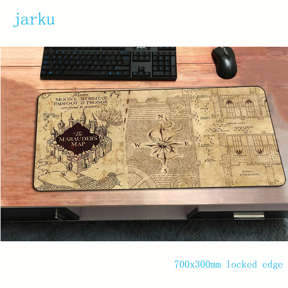 Old Map Mouse Pad Adorable 700x300mm Gaming Mousepad Gamer Mouse Mat Pad Keyboard Computer Padmouse Laptop Play Mat