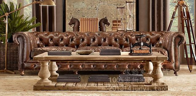 Exports to the U.S. boutique stylish modern classic leather sofas ...