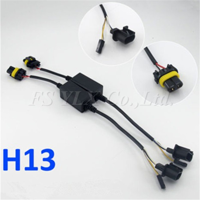 Detail Feedback Questions about FSYLX 10x H13 HID Relay Harness H13