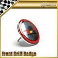Base de Metal Grade dianteira Do Emblema 83mm de Diâmetro Plástico Universal JDM Para Honda Mugen