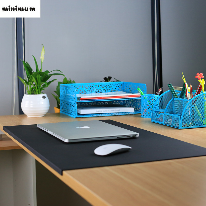 Bureau tapis de souris tapis De Bureau tapis D'affaires table tapis tapis D'ordinateur inodore Bureau appareils TPU matériel En Plastique nappes
