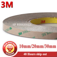 10mm/20mm/30mm *55M 3M 9495LE 300LSE Super Strong Double Sided Transfer Adhesive Tape for iPad Tablet Touch Panel Repair #TC24