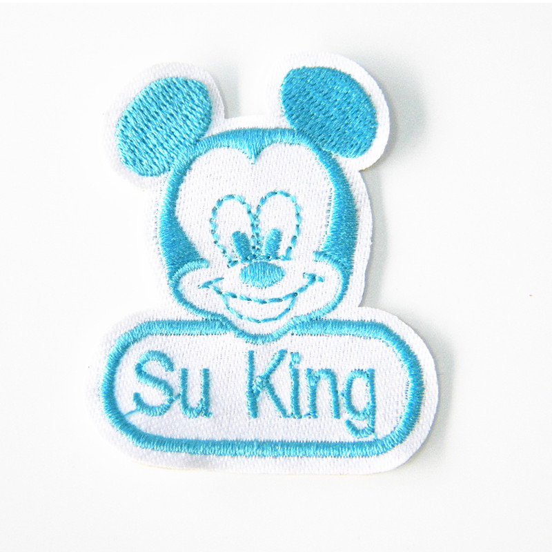 16pc/lot customised patches embroidered name Patch kids PET personalized  name N number embroidery patches custom name tag-in Patches from Home &  Garden on ...