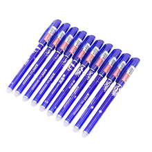 144 Pcs Lots Of Wholesale Erasable Pen Student Stationery Erasable Gel Pen Writing Fluently Do Not Miss Passing Through