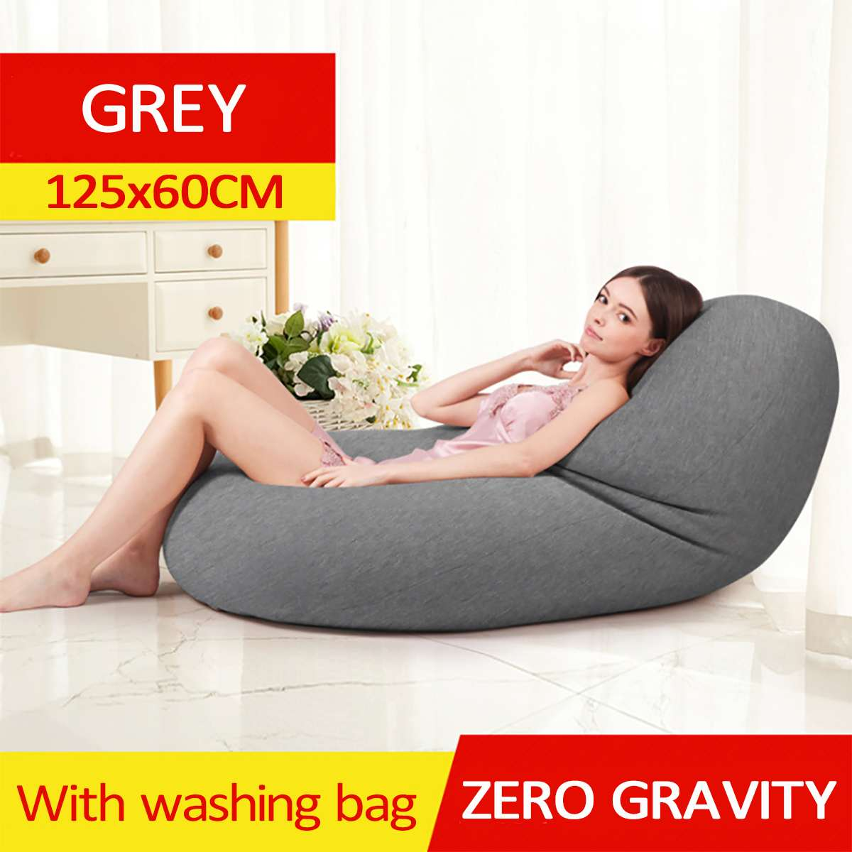 Waterproof Lazy BeanBag Sofas Cover Chairs without Filler Linen Cloth Lounger Seat Bean Bag Pouf Puff Couch Tatami Living RoomWaterproof Lazy BeanBag Sofas Cover Chairs without Filler Linen Cloth Lounger Seat Bean Bag Pouf Puff Couch Tatami Living Room