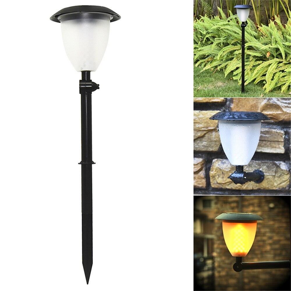99 LED s solaire flamme clignotant pelouse lampe LED danse flamme lumière solaire extérieur étanche jardin décor lampe solaire jardin lumière