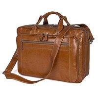 2018 Limited Hot Sale Interior Compartment Zipper Men S Leather Handbag Shoulder Messenger Bag Retro Trend
