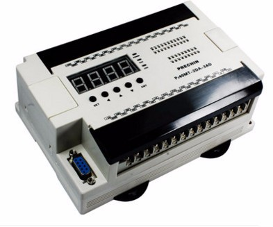 Free Ship 40MT 2DA 2DA China PLC industrial control board programmable control 40MT digital tube LED AD/DA Stepping encoder PLC