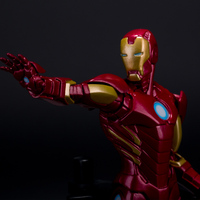 22cm Anime Action Figure The Avengers Iron Man Super Heroes Brinquedos Juguetes Kids Toys For Boys