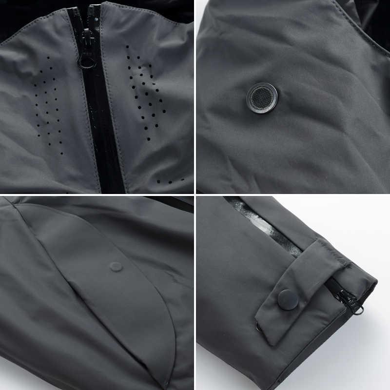 Asesmay/Новое поступление, мужской пуховик, зимние парки, мужские пуховики на белом утином пуху, подкладка из гусиного пера, отстегивающиеся толстые теплые куртки