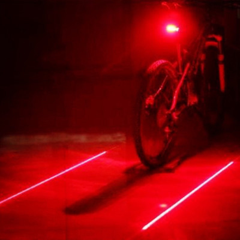 New Bicycle Rear Light Safety Bike Lights LED Bike Tail Light 5LED+2Laser Bicycle Lights 7 Flash Modes Cycling Accessories Lamp-in Bicycle Light from Sports & Entertainment on Aliexpress.com | Alibaba Group