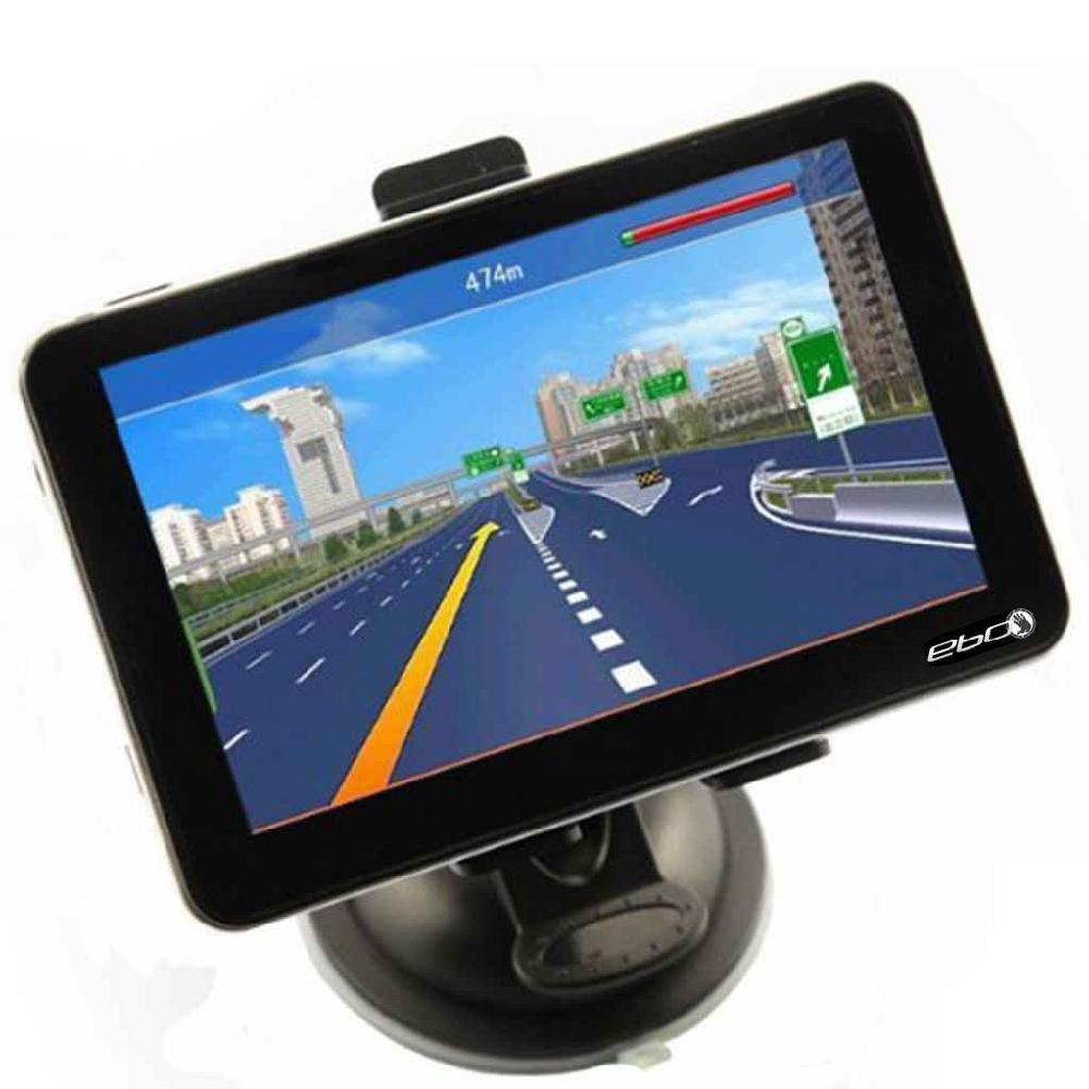 BEESCLOVER DragonPad New arrival!5` Car GPS Navigation Touch Screen FM MP3 MP4 4GB New Map WinCE6.0 FM, mp3, mp4 LCD Screen коврик для панели в авто mp3 mp4