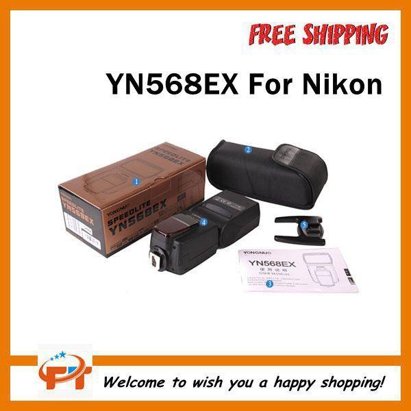 Yongnuo YN-568EX TTL Flash Speedlite HSS for Nikon D7000 D5200 D5100 D5000 D3100