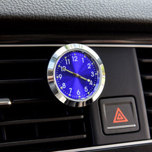 Car Air Outlet Clock Ornaments With Luminous Auto Digital Watch Digital Pointer