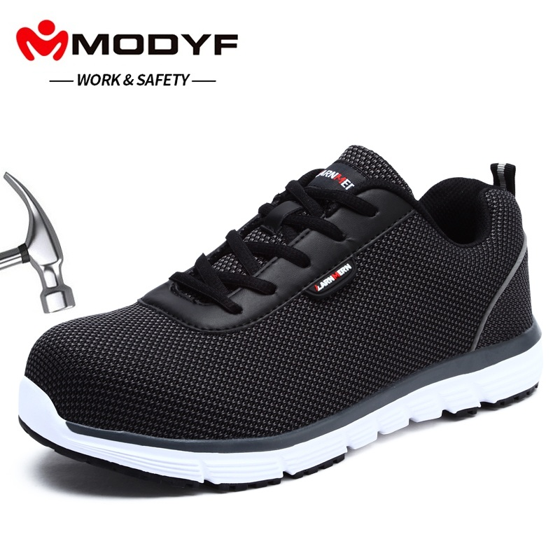MODYF Men's Safety Work Shoes Steel Toe Lightweight