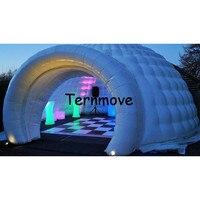 Надувные иглу надувные палатки события Палатки Портативный надувной шатер Палатки с светодиодный свет игрушки надувной купол вечерние пал
