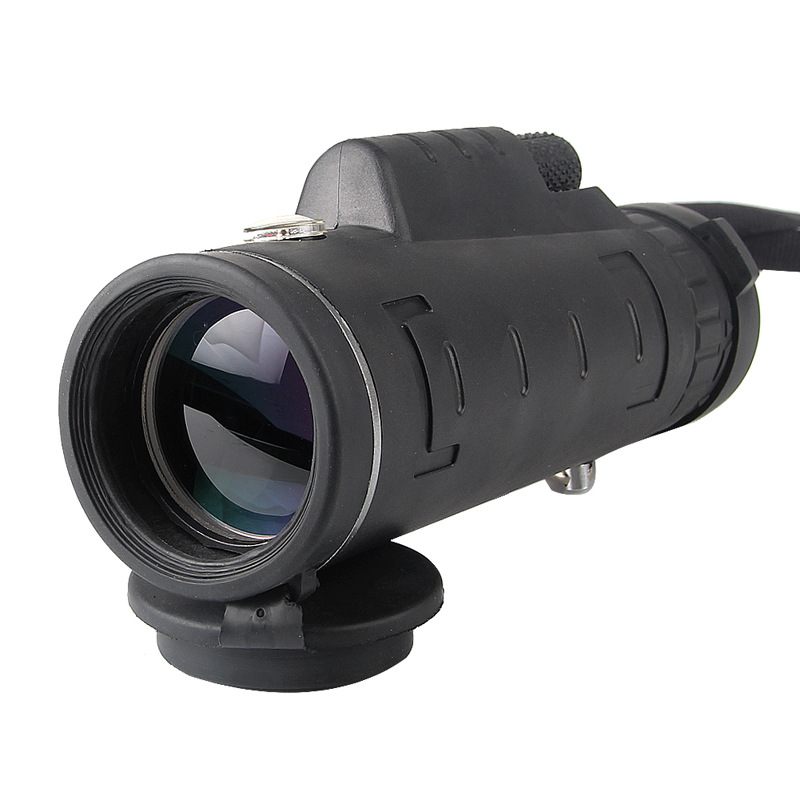 40X60 Monocular Telescope Optical Dual Focusing Adjustment Low Light Night Vision Binocular Spotting Scope Hunting Travel
