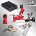 Starter Tattoo Kit 1 Rotary Machine Guns Power Supply