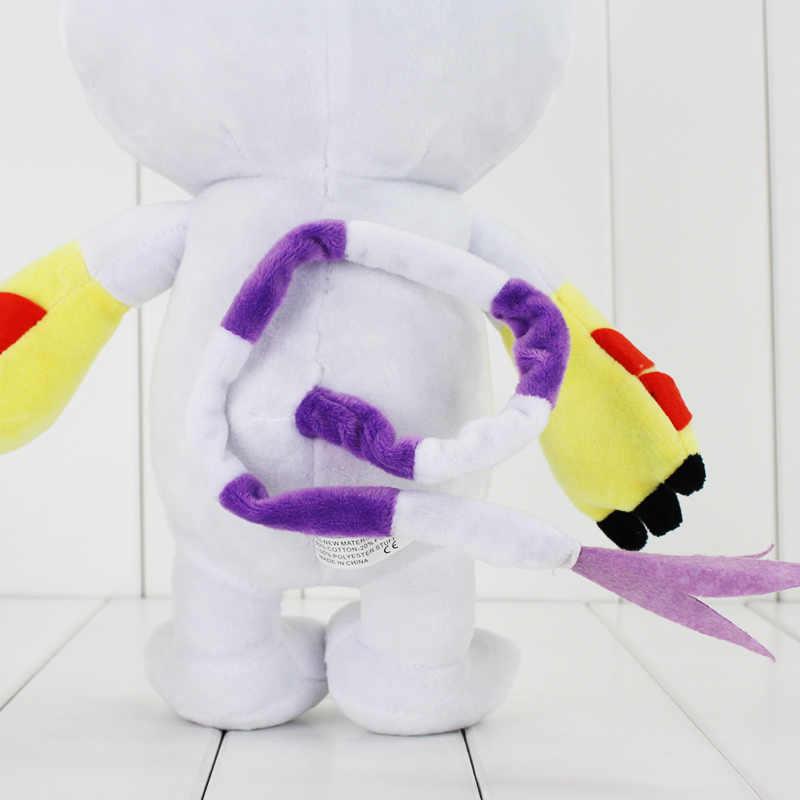 """18 """"45 cm 1 pz Kawaii Digimon Tailmon Gatto Giocattoli di Peluche Cute Anime Molle Farcito Bambole Regali Di Compleanno Per bambini"""