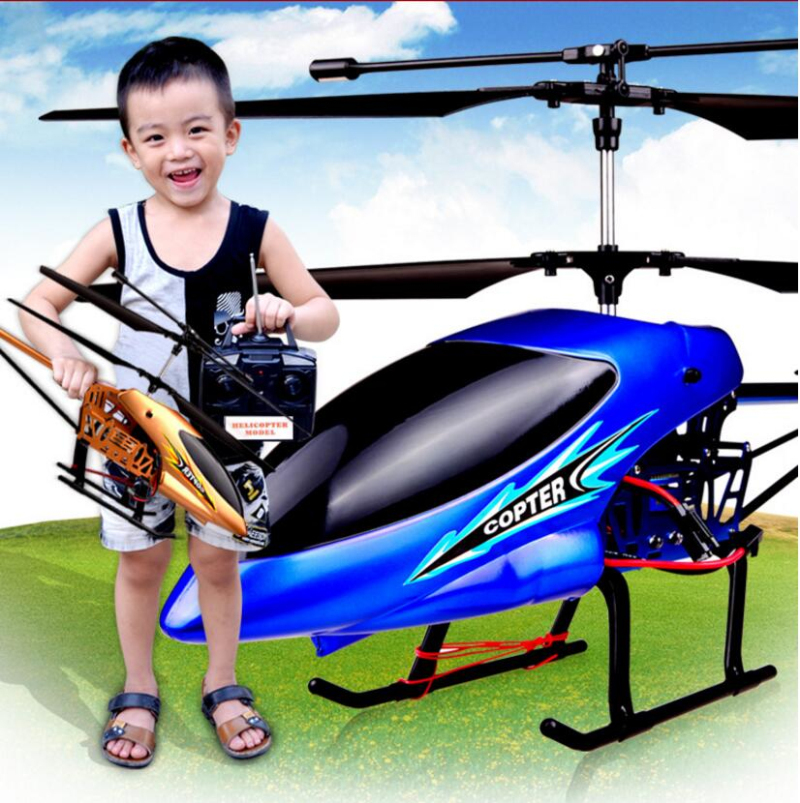 2018 New 68CM Large Remote Control RC Helicopter 136 3.5CH 200M Alloy Body Resistance To Fall Helicopter Kids Boy RC Toys Model remote control charging helicopter