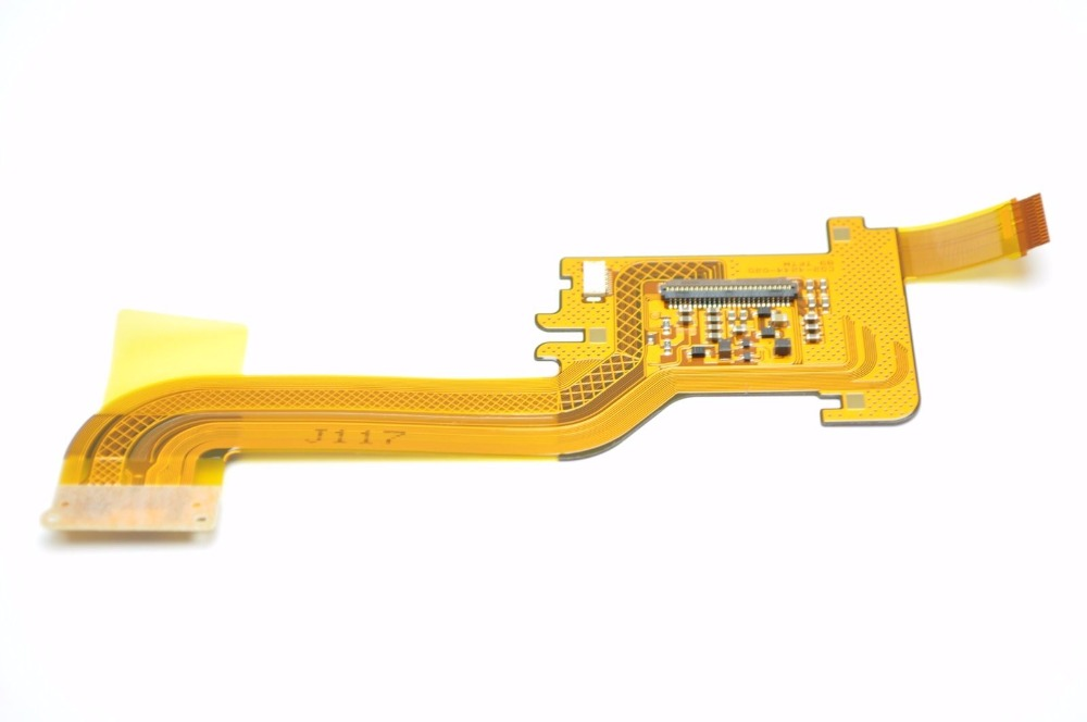 Бесплатная доставка! 95% Новый для Canon 7D Mark II 7D2 ЖК-дисплей Экран Дисплей соединения Гибкие печатные платы flex часть