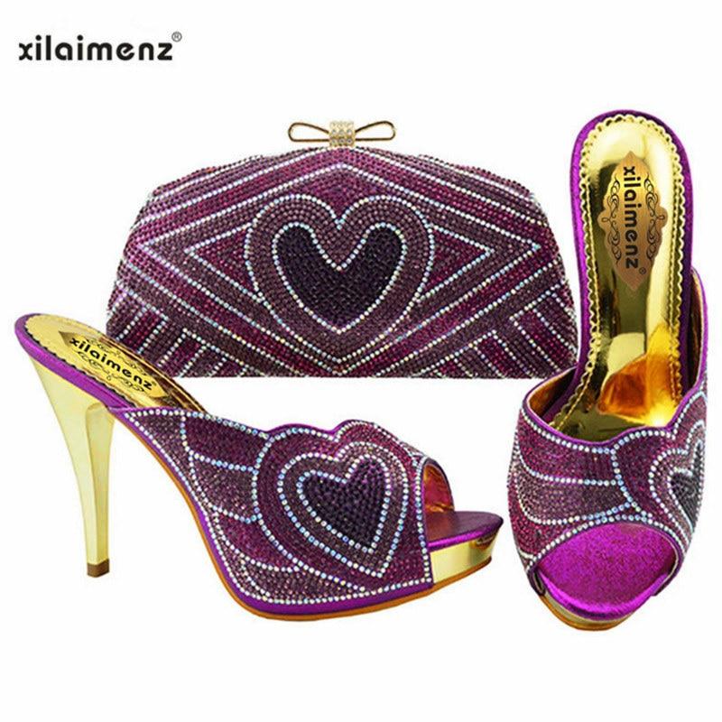 sliver Italiennes En Toe Avec Cristal Sac Peep purple Royal Automne fuchsia Assorties Mode Chaussures Argent Le Couleur gold blue Femmes Pour blue Joli Mariage sky qw0g7tE7