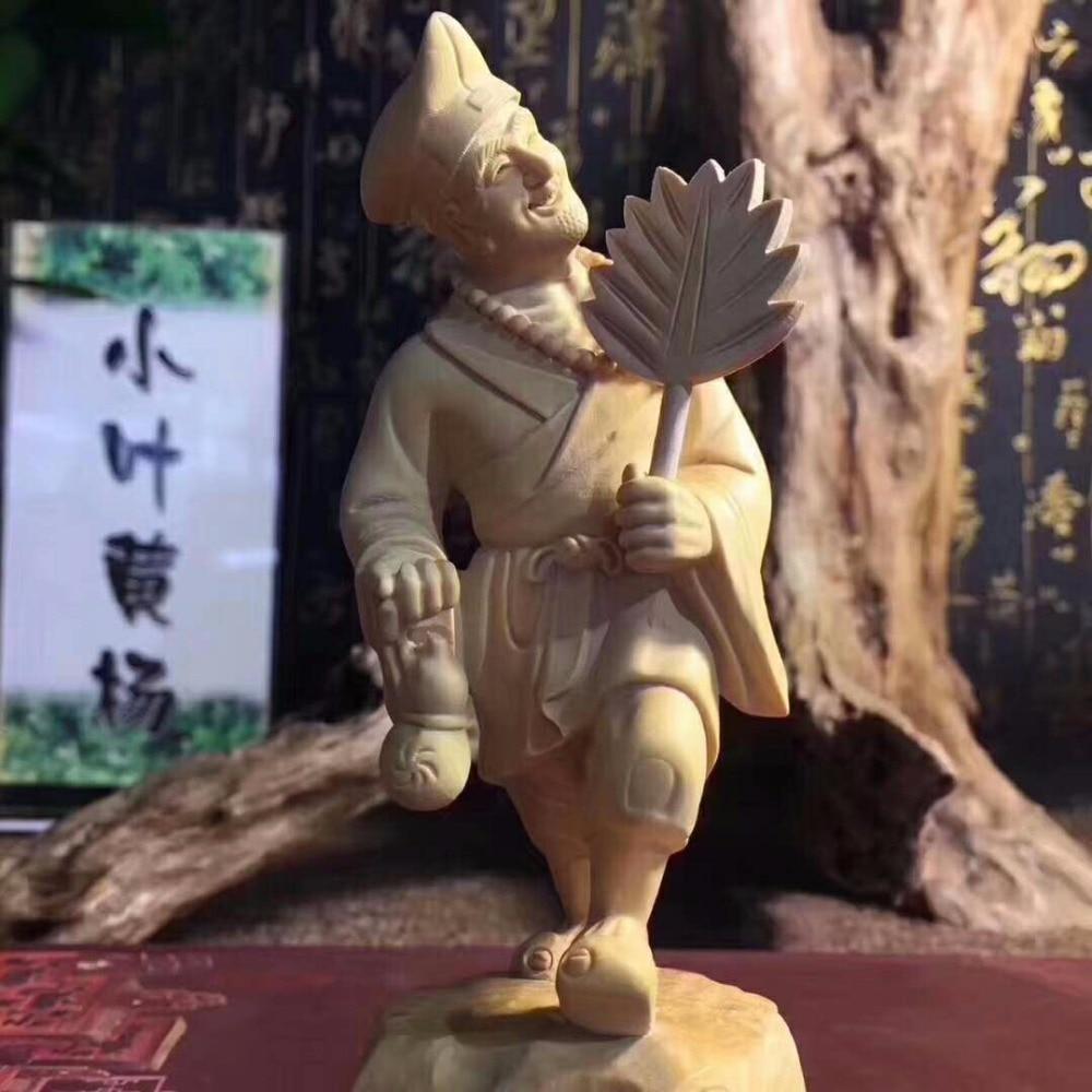 TNUKK  Wooden carving wood Buddha Buddha Gong Home Furnishing ornaments shipping gift decoration.