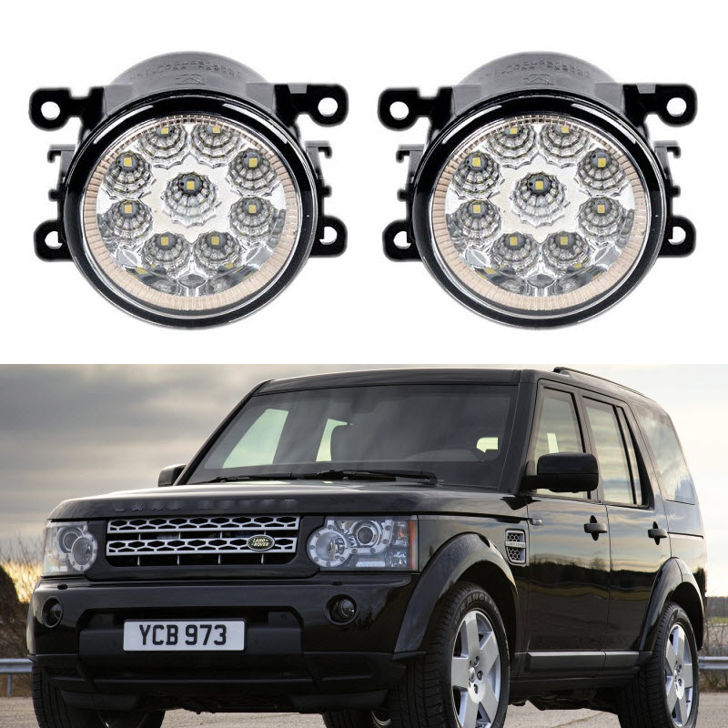 Car-Styling For Land Rover Discovery 4 LR4 2009-2015 9-Pieces Led Fog Lights H11 H8 12V 55W Fog Head Lamp