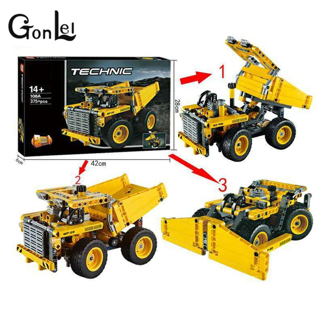 GonLeI Yile 108A Mining Truck Building Blocks 42035 Decoo 3363 ...