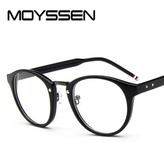 3f5d1a8f2112 MOYSSEN Classic Brand Design Optical Glasses Frame Men women Vintage Round  Eyeglasses Prescription Eyewear