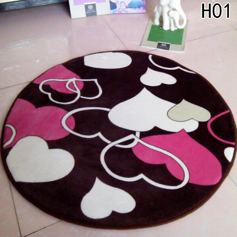 Soft Play Mat DIA 60 Round Cartoon Carpets For Living Room Children Bedroom Rugs And Carpets Computer Living room Mat Kids