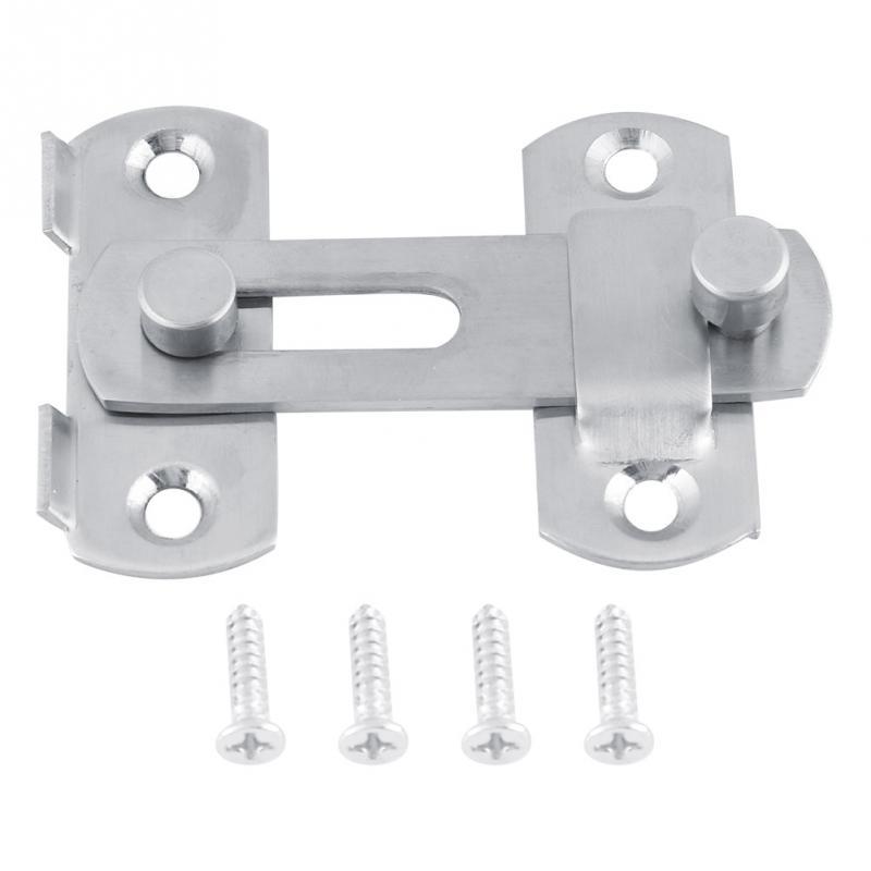 1 Stück Edelstahl Haspe Latch Lock Schiebetür Umkleidekabine Schloss Für Fenster Schrank Umkleidekabine Accessorries Home Hardware Um Jeden Preis