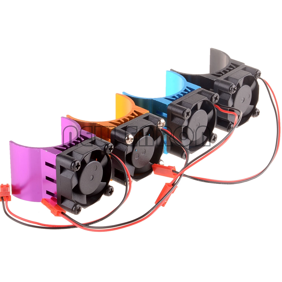 NEW ENRON RC 1:10 Car 03300 Heat Sink <font><b>540</b></font> 550 Stock Modified <font><b>Motor</b></font> Cooling <font><b>Fan</b></font> 7016 4Color image